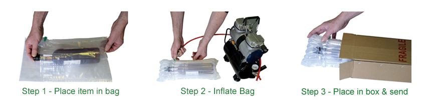 Inflatable Packaging | Protective Packaging | AirPacks