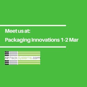 Packaging Innovations Show – Birmingham NEC 1-2 March 2017