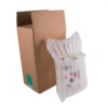 Gin Bottle Packaging   Inflatable Protective Packaging   75cl Gin Bottle Pack