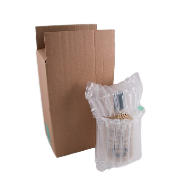 Gin Bottle Packaging | Inflatable Protective Packaging | 50cl Gin Bottle Pack