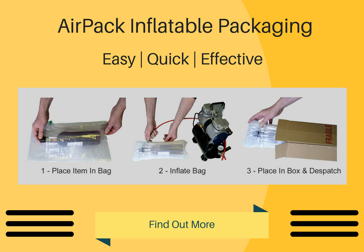 Inflatable Packaging | Bottle Bags | Protective Packaging