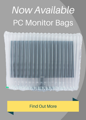 Inflatable Packaging Protection for PC Monitors