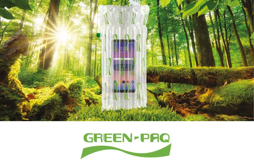 Biodegradable plastic bags for bottle packaging