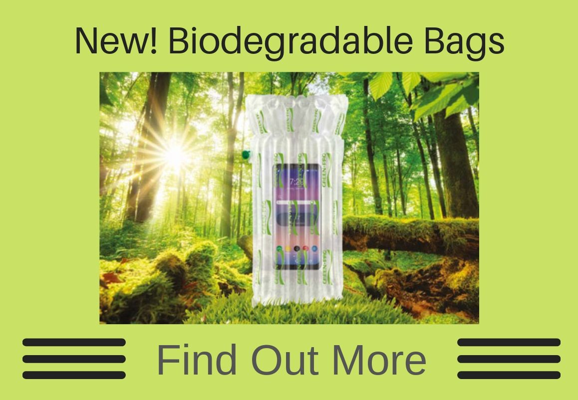 Biodegradable Plastic Packaging | Inflatable Bags