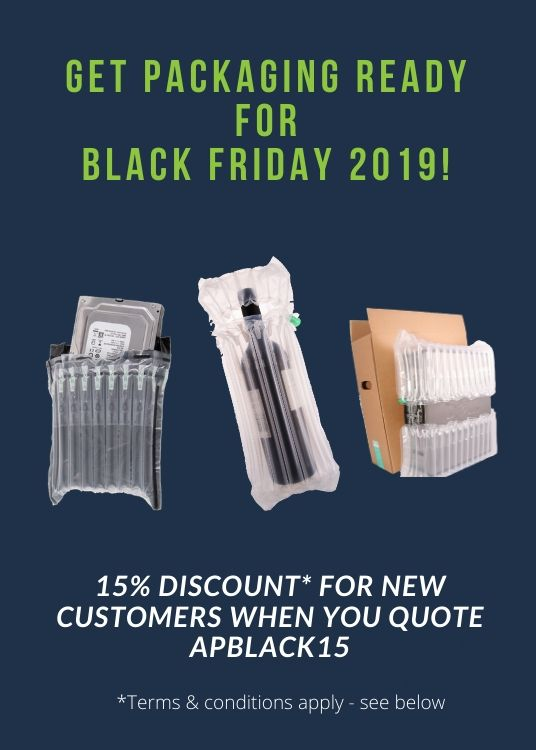 Black Friday 2019 | Inflatable Packaging Sale