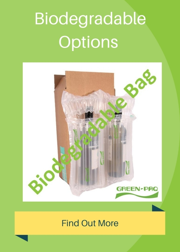 Inflatable Packaging | Protective Bags for bottles